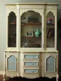 European Paint Finishes: ~French Provincial Hutch~