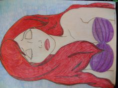 first drawing of Ariel