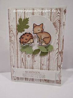 Stampin 'Jessica: Forest Friends