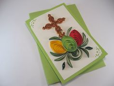 Hey, I found this really awesome Etsy listing at https://www.etsy.com/listing/225804027/easter-card-quilling-cross-and-easter