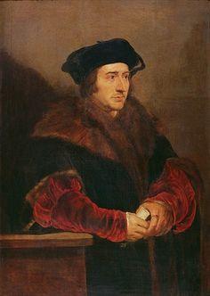 16 May 1532 - Sir Thomas More resigns as Lord Chancellor of England.