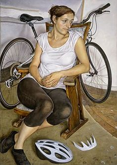 Michael Taylor - figurative paintings, very cool perspective distortion; mentioned on makingamark.blogspot.com.