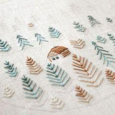 Hand embroidery #naiveneedle