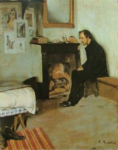Santiago Rusiñol: Erik Satie 1891