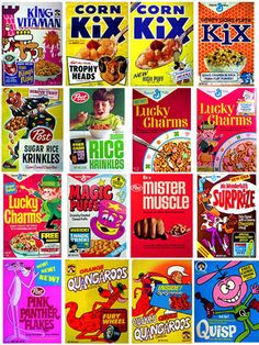 remember getting toys inside cereal boxes?
