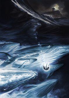 Michael Manomivibul Illustrates Mystery and Adventure