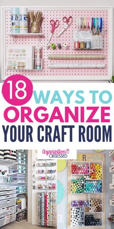 I'm so glad I found these craft room organizing ideas! I cant wait to organize my craft room with these craft supply organizers. Paint Organization, Home Organization Hacks, Organizing Your Home, Organizing Ideas, Washi Tape Storage, Craft Storage, Organized Mom, Getting Organized, Construction Paper Storage