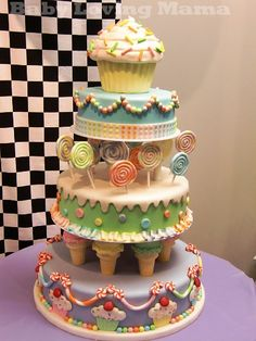 Candy Store Cake
