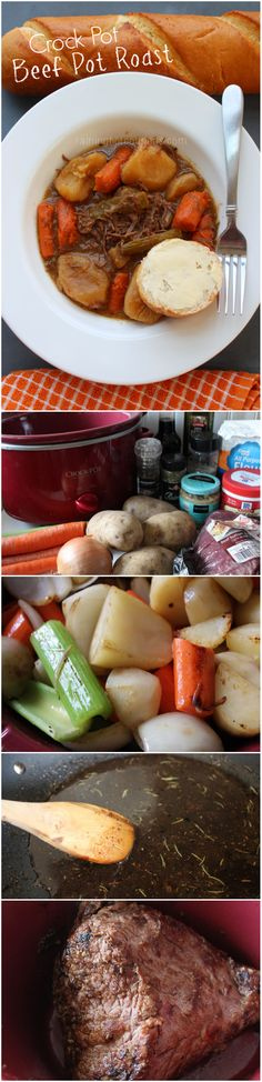Crock Pot Beef Pot Roast - Raining Hot Coupons