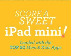 Win An iPad Mini + 50 Family Apps (1 Easy Entry)