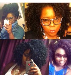 IG: @curlzgonewild_ Crochet braids during the first 5 months of big chop!!  Top two freetress water wave. Bottom left Freetress go go curl. Bottom right Freetress bohemian curl. Protective styling. My natural hair journey