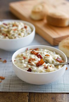 Creamy Chicken, Bacon & Wild Rice Soup