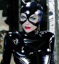 Michelle Pfeiffer IS Catwoman. The most beautiful eyes and mouth... she is such a legendary beauty... my aunt looks like a cross between her and Goldie Hawn and taught me to love fashion and makeup before I could even read... I'd sit there on the floor with her reading Cosmo and trying on the makeup samples... lol