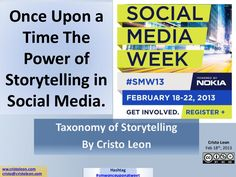 once-upon-a-time-the-power-of-storytelling-in-social-media-presentation by @CristoLeon_ #SMWonceuponatweet