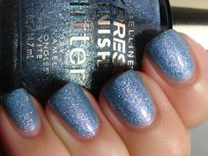 Maybelline Express Finish Glitter - Bolt Of Blue