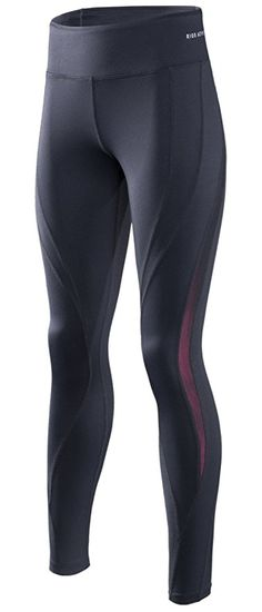 c4aa4298d9602 Amazon.com: RION Active Women's Workout Pants Yoga Running Compression  Tights Tummy Control Leggings: Clothing
