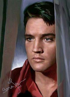 Elvis Presley .
