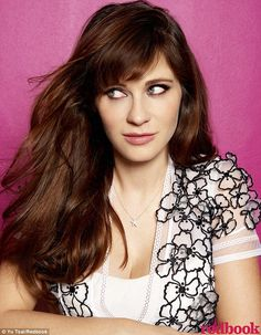 Zooey Deschanel Speaks Out About Post-Baby Body Expectations: Photo Zooey Deschanel is beaming on the cover of Redbook magazine's May 2016 issue. Here's what the New Girl star had to share with the mag: On how… Zooey Deschanel Style, Zoey Deschanel, Old Actress, American Actress, South Actress, Hot Actresses, Hollywood Actresses, Beautiful Actresses, New Girl Style