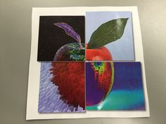 Computer Lessons, 5th Grade Art, Apple Art, Art Lessons, Art History, Apples, 2d, Art Projects, Paintings