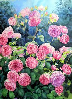 Watercolor, watercolor paper 100% cotton 52 * 38 cm