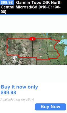 Gps Software And Maps Garmin Topo 24k North Central Microsd Sd 010