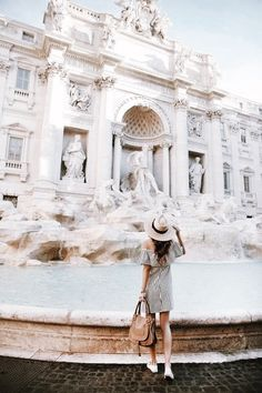 .B. - ♕ insta and pinterest @amymckeown5 - Trevi Fountain, Rome, Italy