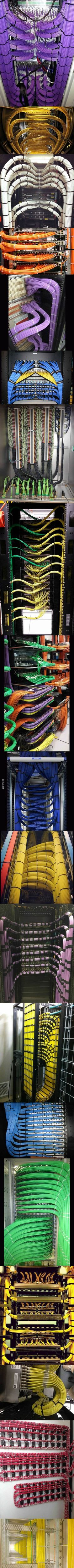 We love seeing beautiful cable management like this!