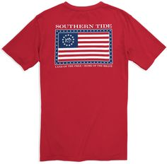 Skipjack Independence T-shirt - 3rd Edition | Southern Tide