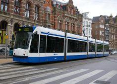 GVB Siemens Combino Amsterdam May 2007