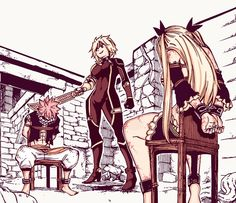 In the fierce battle... the gears in Natsu's fate begin to move. // chapter 502