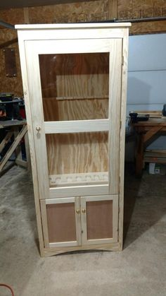 Another gun cabinet by budman