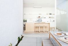 Built by studiofour in Prahran, Australia with date 2014. Images by Shannon McGrath. This project began as an existing single level Victorian house in Prahran, comprised of a series of compartmentalised...