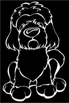 Tibetan Terrier Full Body Decal – Angry Squirrel Studio