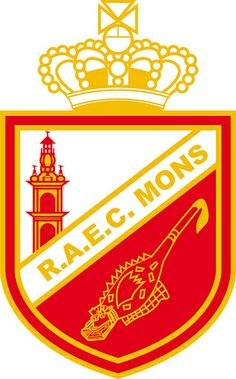 Royal Albert-Elizabeth Club de Mons (R.A.E.C. Mons / Bergen) | Country: Belgium / Belgique / België / Belgien. País: Bélgica. | Founded/Fundado: 1910/04/01 | Badge/Crest/Logo/Escudo.