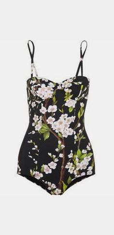 printed underwired swimsuit, Dolce & Gabbana
