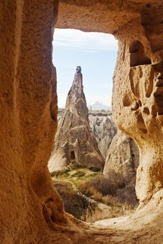 The arid plateau of Cappadocia in Turkey hides vast, subterranean cities and towering fairy chimneys that were hewn by wind and rain, heat and cold, and then carved out by troglodytes