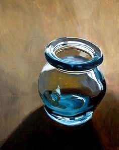 print  almond jar  print of original painting by brianataylor, $35.00
