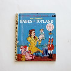 A Little Golden Book: Walt Disney's Babes in Toyland by MyForgottenTreasures on Etsy