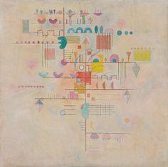 Collection Online | Vasily Kandinsky. Graceful Ascent (Montée gracieuse). March 1934 - Guggenheim Museum