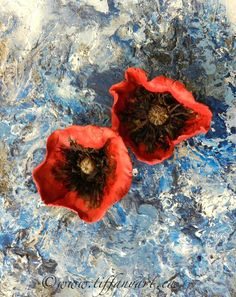 tiffanyart.ca Poppies, Palette, Painting, Color, Art, Colour, Art Background, Painting Art, Kunst