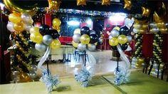 decoraciones negro con dorado - Buscar con Google