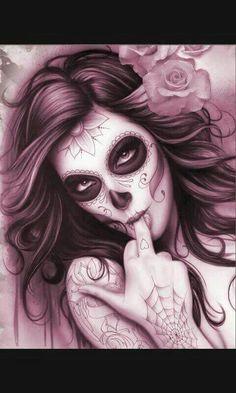 Tête de mort mexiquaine