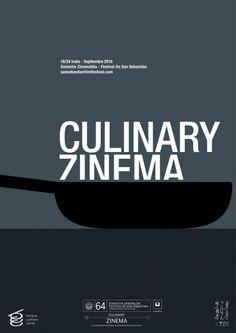 Concurso de carteles :: Festival de San Sebastián :: culinary_zinema_1
