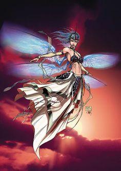 Soulfire by Michael Turner Comic Book Artists, Comic Book Characters, Comic Artist, Comic Character, Comic Books Art, Michael Turner, Comics Girls, Fun Comics, Aspen Comics