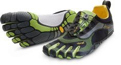 Vibram Five Fingers. They're shoes. With separate toes.