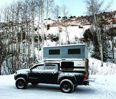 four wheel camper on dual cab