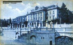 RIJEKA - Republic of Croatia - unused postcard from 1942 overprinted 1945