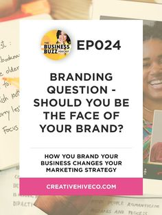 Branding Question -- Should You Be The Face of Your Brand? // Creative Hive Co -- Mei Pak