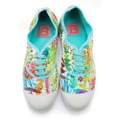 Bensimon tennis shoes, Liberty Tresco print.