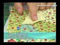 """Tia Lili na TV: Bolsinha Vitoriana com técnica """"crazy quilt"""""""